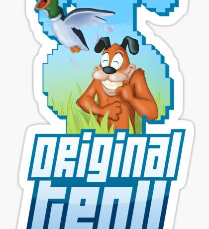 Duck Hunt - The Original Troll Sticker