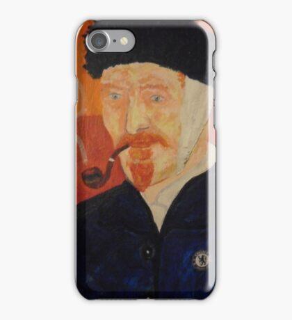 Portriat of Vincent VanGogh iPhone Case/Skin