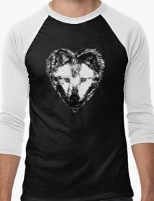 A Hungry heart Men's Baseball ¾ T-Shirt