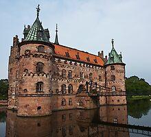 Egeskov castle Funen Denmark by ronyzmbow