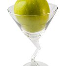 Green Apple Martini  by travis manley