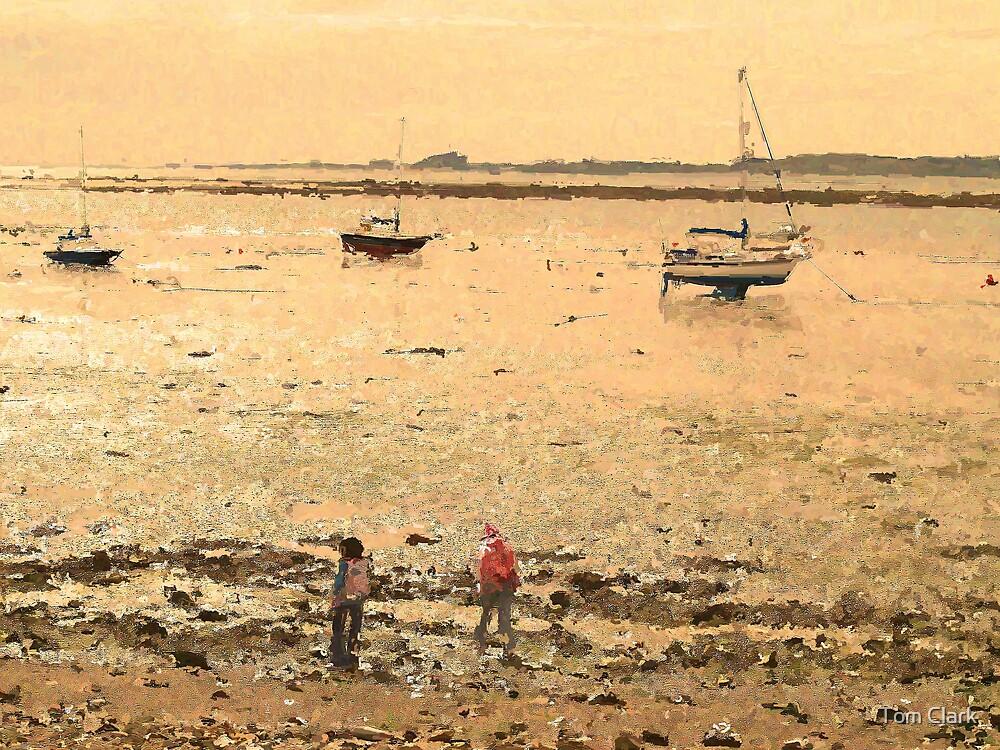 Bamburgh Sands by Tom Clark