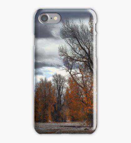 Autumn at Valdez iPhone Case/Skin