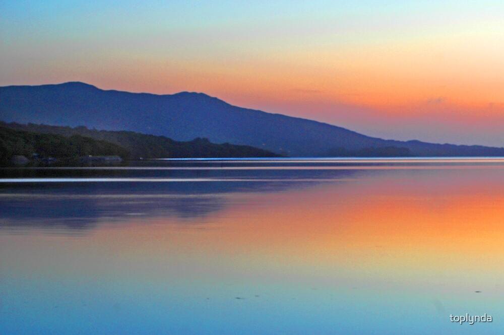 evening light by toplynda