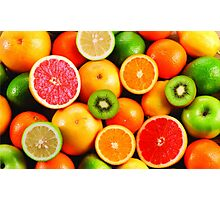 Fresh fruit Photographic Print