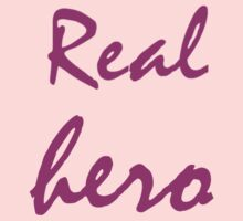 Real hero. Kids Clothes