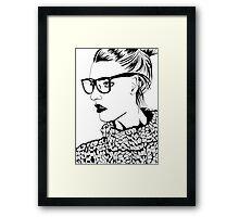 My Favourite Nerd Framed Print