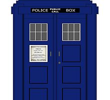 Vintage Police Box by superstarbing