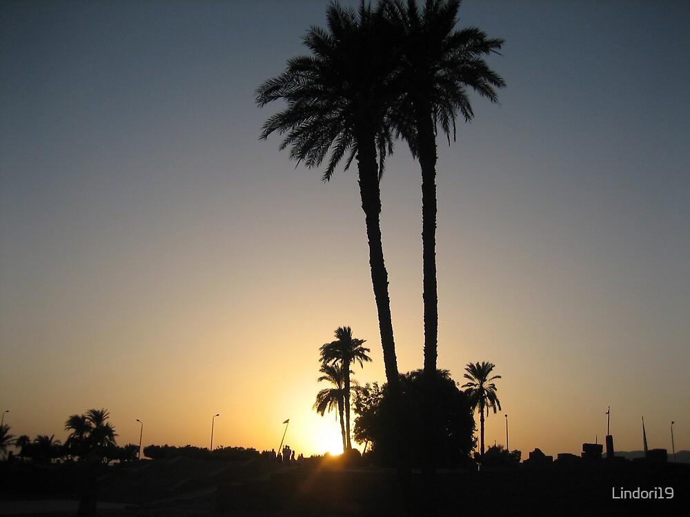 Egyptian Sunset by Lindori19