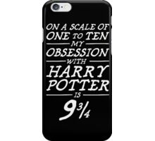 Harry Potter Obsession iPhone Case/Skin