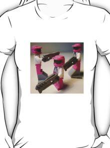 Halo Wars Pink Spartan Soldier Custom Minifig T-Shirt