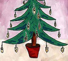 Dreidel Christmas Tree by John Douglas
