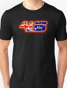 AUS - Australia Flag Logo - Glowing T-Shirt