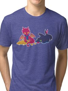 How to train your dragon! Tri-blend T-Shirt