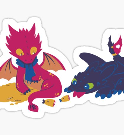 How to train your dragon! Sticker