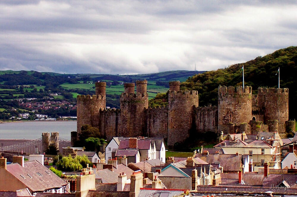 Castle and Rooftops by JImage