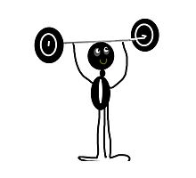 COMIC WEIGHT LIFTING image by ackelly4