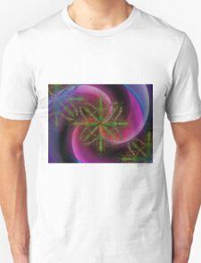 Snowflake Spiral  Unisex T-Shirt