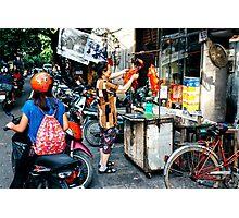 Street Food Hanoi Photographic Print