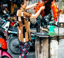 Street Food Hanoi Sticker