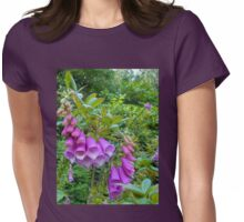 Foxgloves Dreaming Womens Fitted T-Shirt