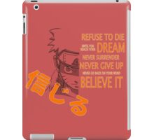Believe It! iPad Case/Skin