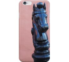 Horse on Pink Wall - New Orleans, LA iPhone Case/Skin