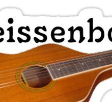 Hooker Weissenborn guitars Sticker