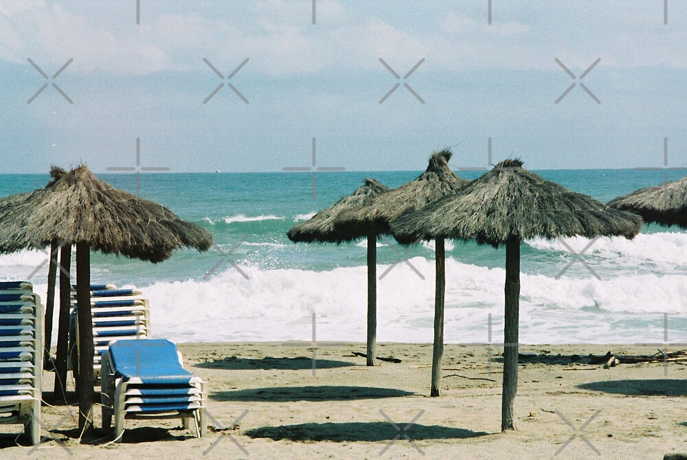 Argelès-sur Mer by Louise Green