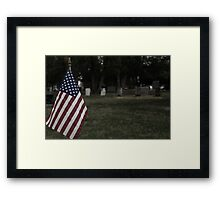 U.S. Graves Framed Print