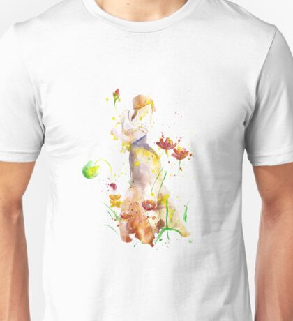 Women Abstract, Watercolor Art Unisex T-Shirt