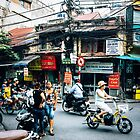 Power Lines Vietnam by Oliver Winter