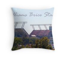 Williams Brice Stadium Throw Pillow