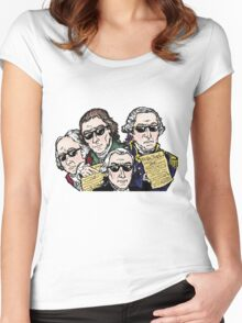 Founding Father Dudes Women's Fitted Scoop T-Shirt