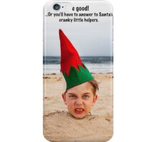 Cranky Elf iPhone Case/Skin