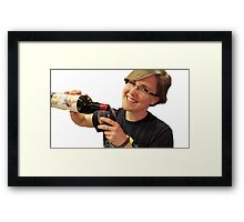 Hannah Hart - My Drunk Kitchen Framed Print