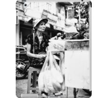 Local Lady in Hanoi iPad Case/Skin