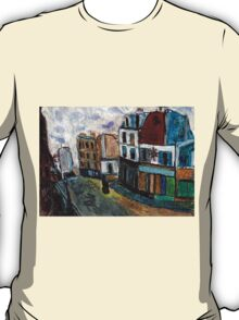 City Square(after Utrillo) T-Shirt