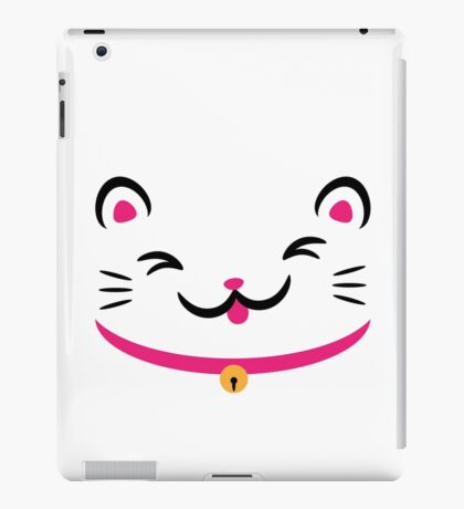 Silly Kitty iPad Case/Skin
