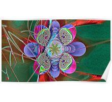 Flower Nebula Poster