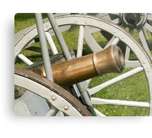 Large Cannon Metal Print