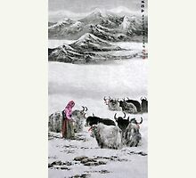 Snowy Mountain by aplcollections