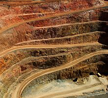 Cobar Gold Mine by Darren Stones