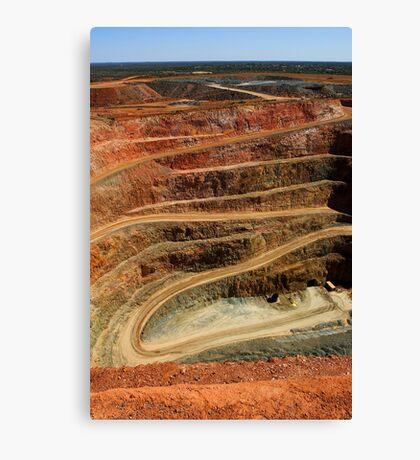 Cobar Gold Mine Canvas Print