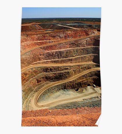 Cobar Gold Mine Poster