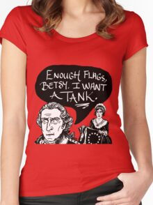 I Want A Tank Women's Fitted Scoop T-Shirt