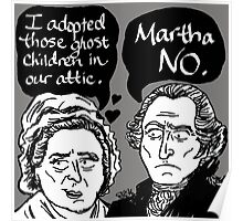MARTHA NO Poster