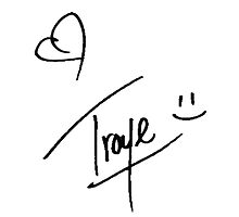 Troye Sivan - Autograph by micxeymooon