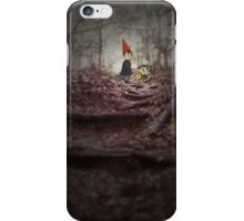 Wirt & Greg--Into The Unknown. iPhone Case/Skin
