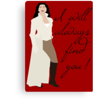 Always Find You Canvas Print